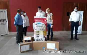 Equipan Alejandro Murat e Ivette Morán a San Felipe Usila - Quadratín Oaxaca