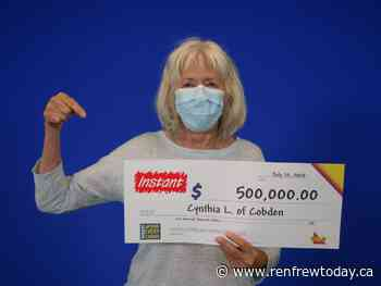 Cobden resident wins $500000 with Instant Classic Extravaganza - renfrewtoday.ca