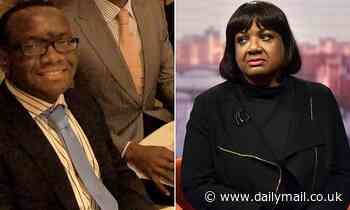 Diane Abbott's son 'had crystal meth delivered to £1.2m home'