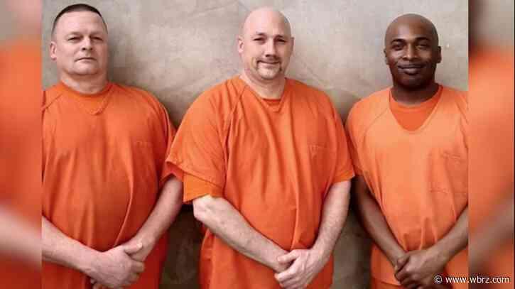 Georgia inmates hailed as heroes for saving injured deputy