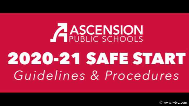 Ascension releases guide detailing in-school safety measures for upcoming semester