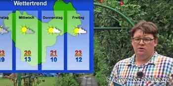 Das Wettervideo für Peine vom 27. bis 31. Juli 2020 - Wie nass werden die kommenden Tage? - Peiner Allgemeine Zeitung - PAZ-online.de