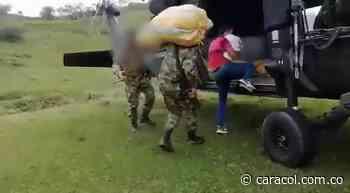 Autoridades evacuaron una familia desplazada del municipio de Ituango - Caracol Radio
