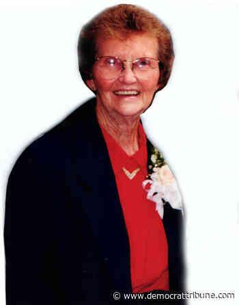 Obituary: Wava Jean McMillon Wilcox (7/29/20) - Democrat Tribune