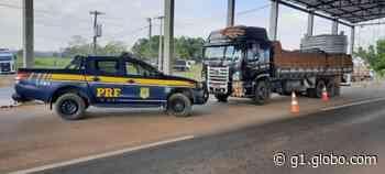 Caminhão e semirreboques adulterados são apreendidos em Pimenta Bueno, RO - G1