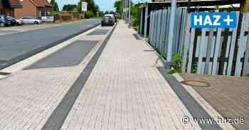 Resser Straße in Langenhagen: Bauarbeiten auf Gehweg sind abgeschlossen - Hannoversche Allgemeine