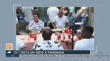 Moradores denunciam festa e aglomeração em Juiz de Fora - G1