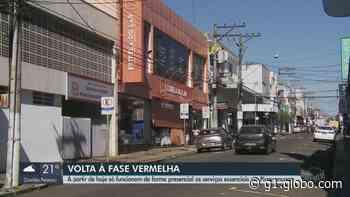 Pirassununga vai para a fase vermelha do Plano São Paulo e fecha comércio não essencial - G1
