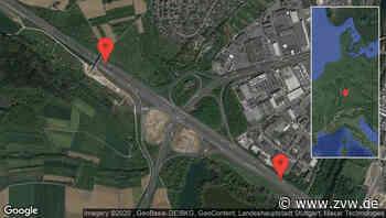 Wendlingen am Neckar: Gefahr für ungesicherte Unfallstelle auf A 8 zwischen Im Rübholz und Wendlingen in Richtung Stuttgart - Staumelder - Zeitungsverlag Waiblingen