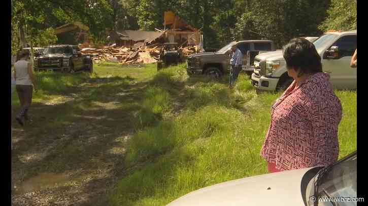 Demo day finally comes for 2016 flooded homeowner