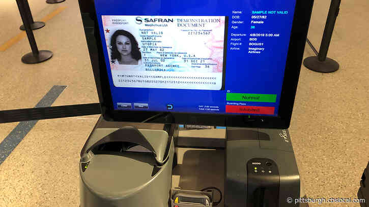 TSA At Pittsburgh International Airport Using New Technology To Scan IDs And Confirm Flight Information