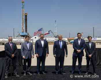 Watch: Trump delivers remarks at Double Eagle Energy rig - Midland Reporter-Telegram