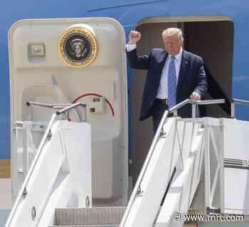 Watch: President Trump lands in Midland - Midland Reporter-Telegram