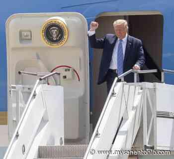 President Trump arrives in Midland - mySanAntonio.com