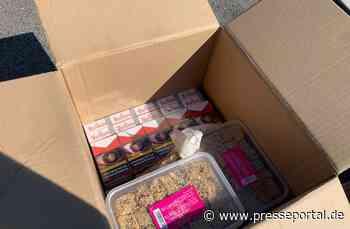 """HZA-HN: Morgens halb zehn bei Waldenburg/ """"Sesam öffne Dich"""" Schmuggelzigaretten unter Patisseriewaren... - Presseportal.de"""