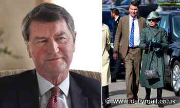 Sir Tim Laurence admits he was 'surprised' at finding the royal households were 'full of laughter'