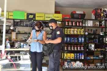 Por no contar con medidas sanitarias clausuran cinco negocios en Tepic - Matutino Grafico