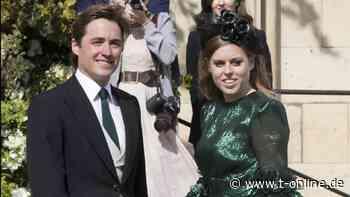 """Royals: Prinzessin Beatrice mit """"kleinem Auto"""" in die Flitterwochen - t-online.de"""