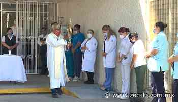 Celebran la misa en IMSS Sabinas [Coahuila] - 25/07/2020 - Periódico Zócalo
