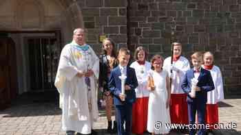 Weg endlich frei für Erstkommunion in Balve - come-on.de