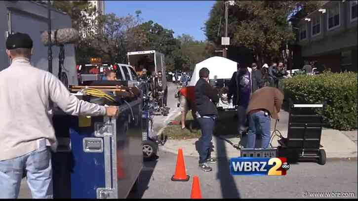 Film industry returns to New Orleans after months-long pause on production