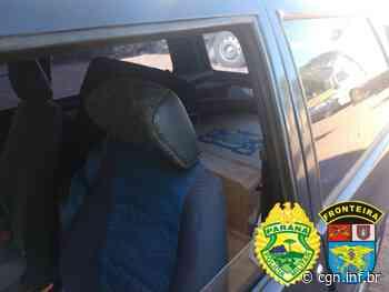 BPFron apreende cigarros em veículo durante Operação Hórus em Marechal Cândido Rondon - CGN