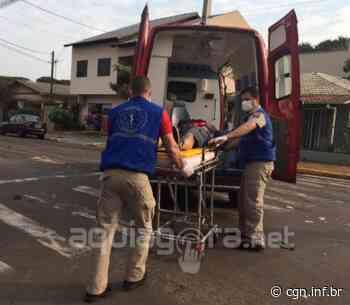 Motociclista fica ferido após acidente em Marechal Cândido Rondon - CGN