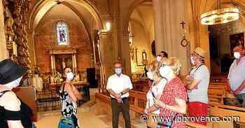 Pertuis : l'église et le centre historique dévoilent leurs secrets - La Provence