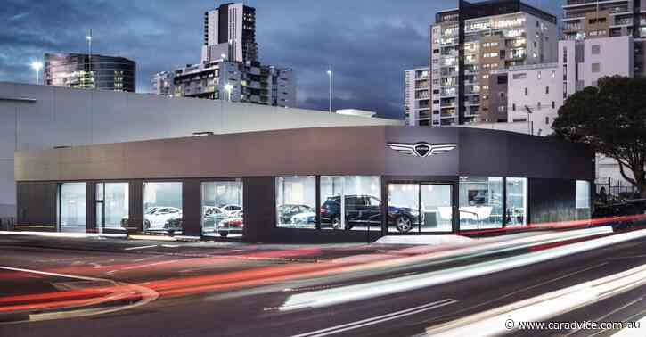 Genesis test drive centre opens its doors in Sydney