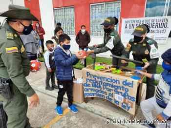 Orientan a niños sobre Covid-19 en Cumbal - Diario del Sur