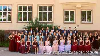 Furtwangen: Erfolgreiches Abitur - Furtwangen - Schwarzwälder Bote