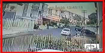 Câmera flagra roubo de veículo no conjunto Morada Nova - GP1