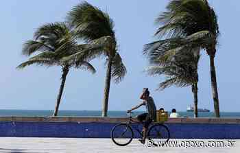Iguatu, Fortaleza e Morada Nova registram as maiores rajadas de vento nas últimas 48 horas - O POVO