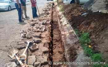 Continúan trabajos de alcantarillado en Fraccionamiento Valle Verde, en Zamora - El Sol de Zamora