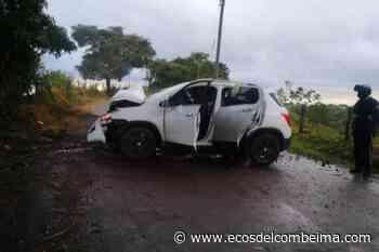 Cuatro heridos dejó un accidente de tránsito en el municipio de Palocabildo - Ecos del Combeima