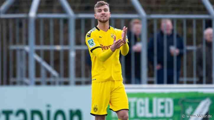 Erster Neuzugang: Meppen holt Bünning vom BVB - kicker