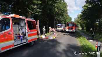 Schwerer Verkehrsunfall auf Helter Damm in Meppen - Neue Osnabrücker Zeitung