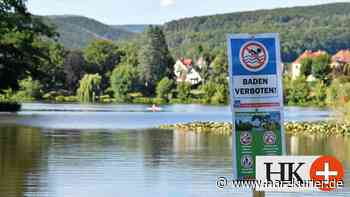 Stadt Herzberg stellt Verbots-Schilder am Juessee auf - HarzKurier