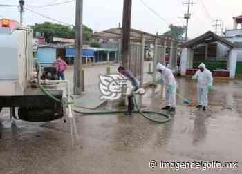 Habitantes de Nanchital piden que les lleven agua con pipas - Imagen del Golfo