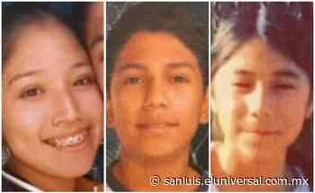Localizan a tres hermanos reportados como desaparecidos en Rioverde - El Universal