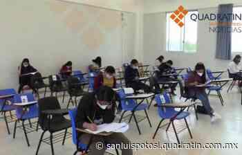 Realizan 462 bachilleres examen de ingreso a UASLP en Rioverde - Quadratín - Quadratín San Luis