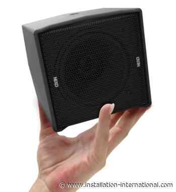 NEXO releases smallest loudspeaker to date - Installation International