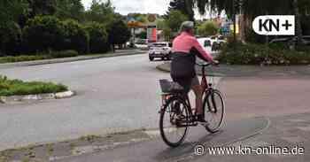 Mühlenstraße Preetz: Gefahr für Radfahrer an der Einmündung - Kieler Nachrichten