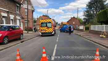 Une canalisation de gaz percée à Laventie, plusieurs personnes évacuées - L'Indicateur des Flandres