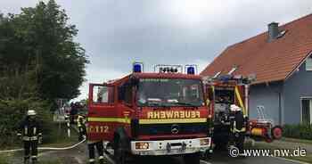 Feuer in leerstehendem Haus in Espelkamp - Neue Westfälische
