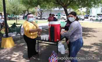 Reparten alimentos a familias de pacientes COVID en Nuevo Laredo - Vox Populi