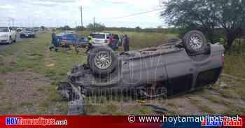 Deja aparatoso percance un hombre lesionado en Nuevo Laredo - Hoy Tamaulipas