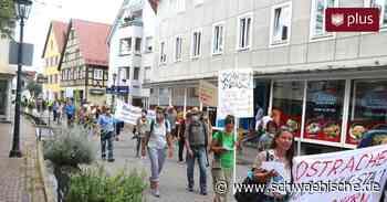Bad Saulgau: Demonstration für eine bäuerliche Landwirtschaft - Schwäbische