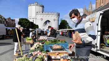 Le masque devient obligatoire sur les marchés de Bailleul - La Voix du Nord