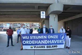 Vlaams Belang Roeselare en Izegem steken ordehandhavers een hart onder de riem